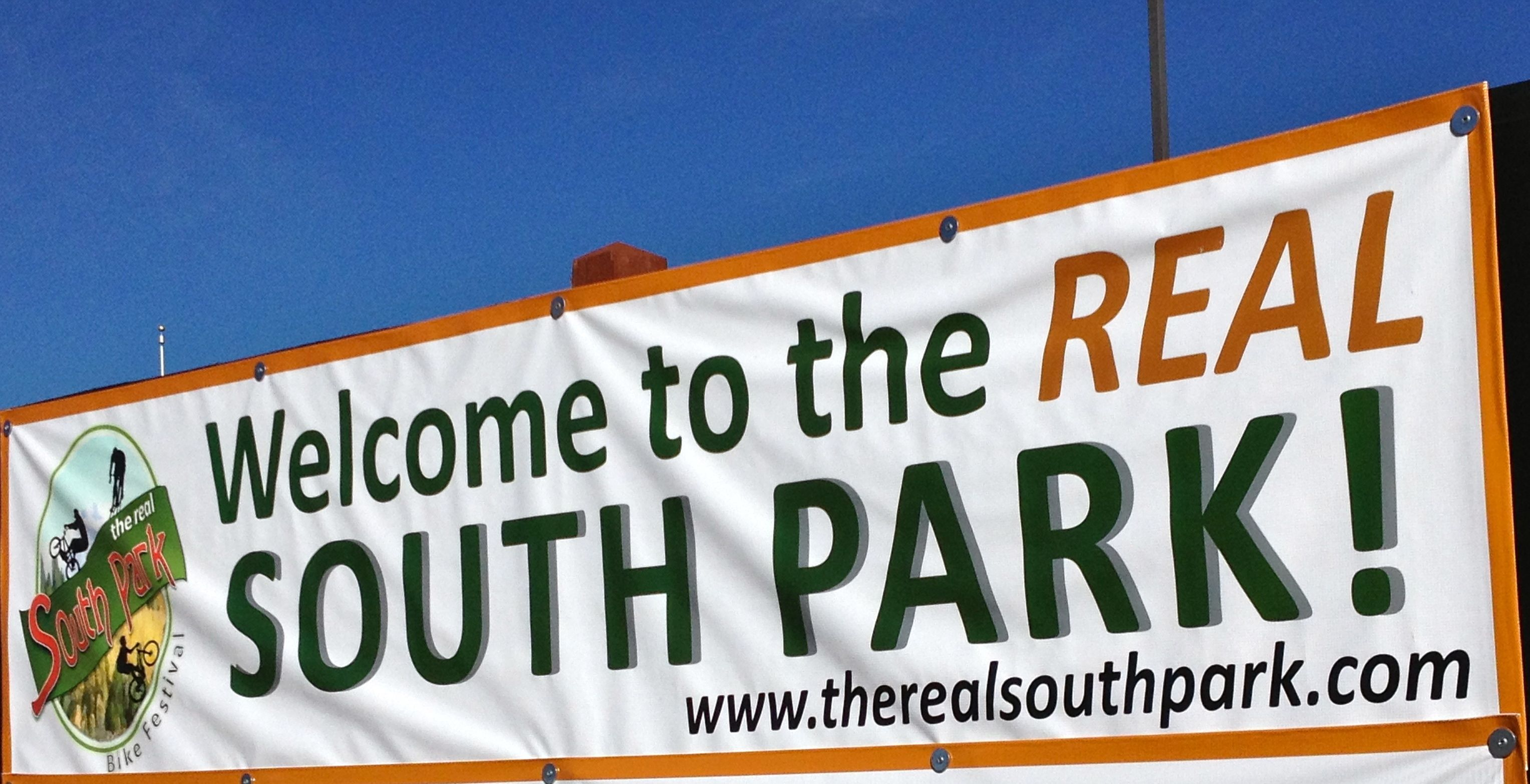 the friday funny sign south park is a real place and