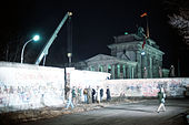 Berlin Wall removed