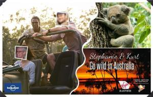 We are now on a trek to see the crazy Australian wildlife.