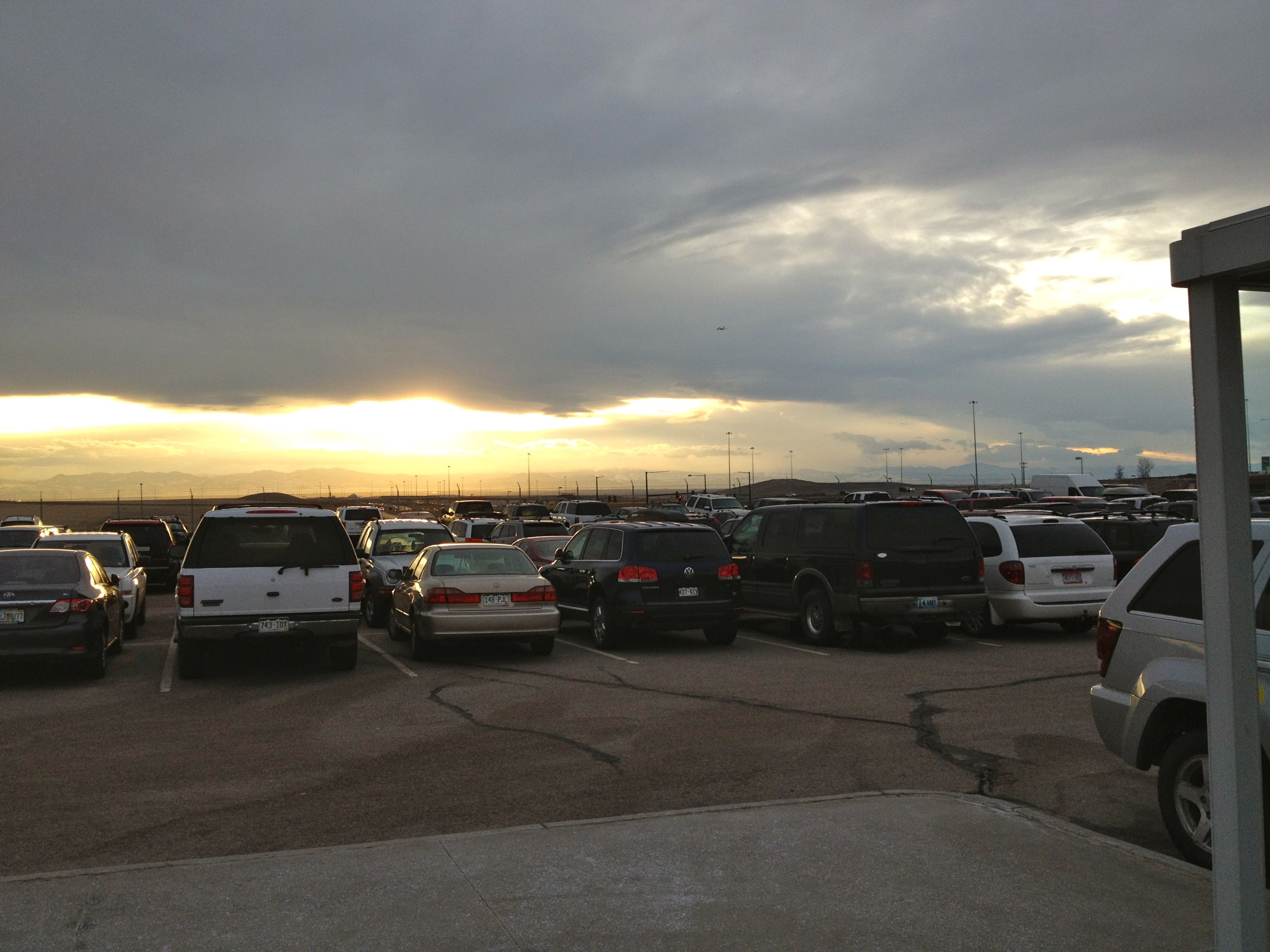 Pikes Peak Parking >> Pikes Peak Parking Lot Travel Oops