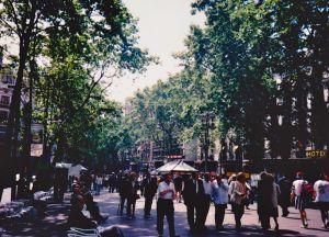 Las Ramblas ©Stephanie Glaser 1995