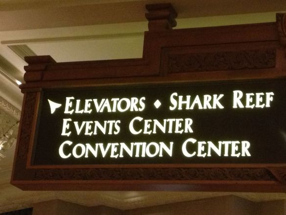 Shark reef and convention ceter