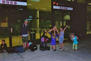 At the Los Cabos Airport. I commit another Travel Oops when I inadvertently take a photo in a no photo zone. © Stephanie Glaser 2011