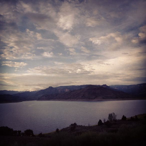 Blue Mesa Reservoir (with an Instagram effect) Gunnison, CO