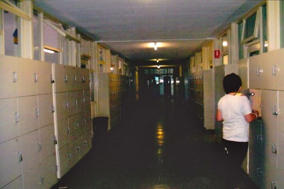 One of the Hallways of Le Fevre