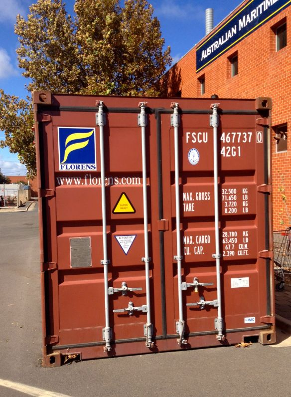 The super heavy container.