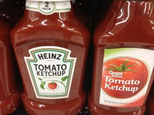 Authentic American ketchup at Wal-Mart.