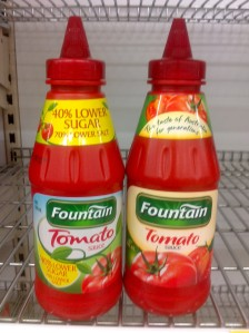 The source of my ethnocentrism. Tomato sauce. © Amy Frazier