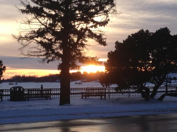 Wayzata at sunset
