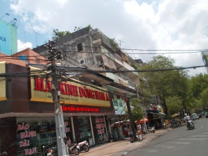 The crazy wiring of HCMC