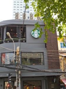 Starbucks on the corner