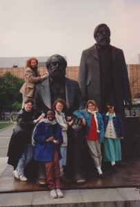 the girls with marx and engels