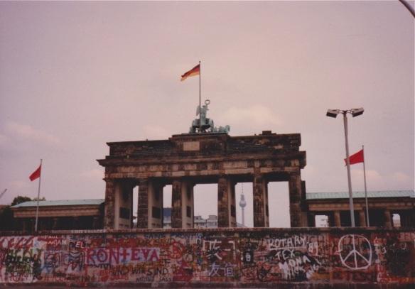 west berlin and reischstag