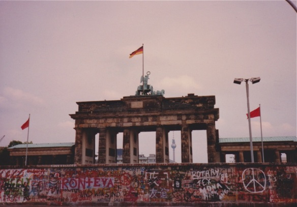 west berlin and reischstag