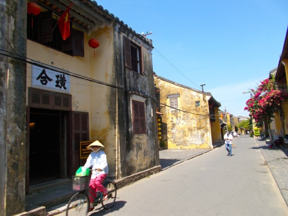 The quiet streets of Hoi An.