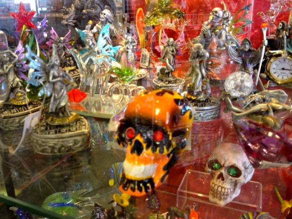 The skull and fairy collection. Precious.