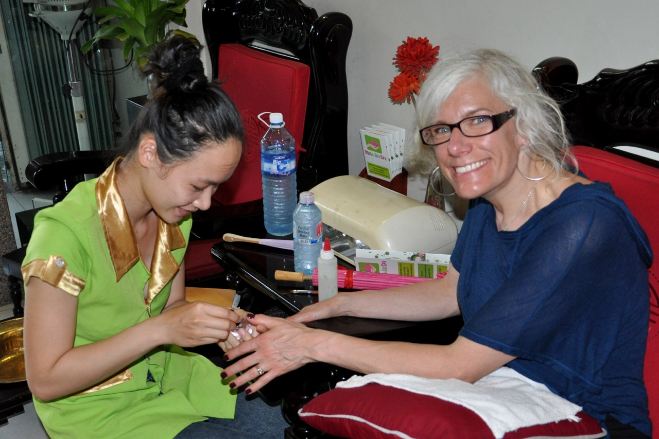 Trying to hammer out the details about nails in Vietnam   Travel Oops