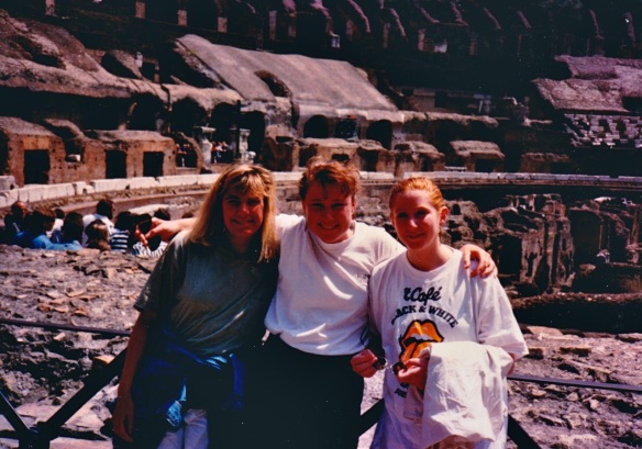 steph leah amy at colloseum