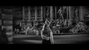 swedish actress trevi fountain