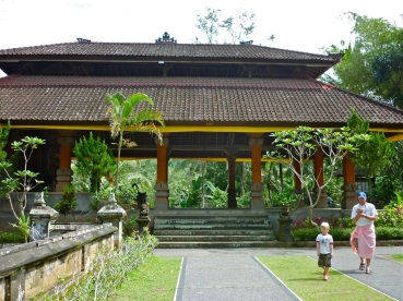 Bali temple with Kurt and Eddie