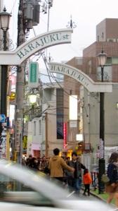 The Tokyo shopping juggernaut, Harajuku,