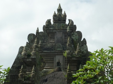 Ubud building with tufts