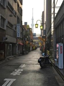 Asakusa deserted