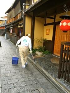 street sweeper gion