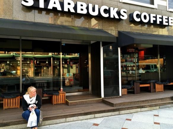 Suz at Starbucks