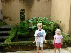 ubud courtyard