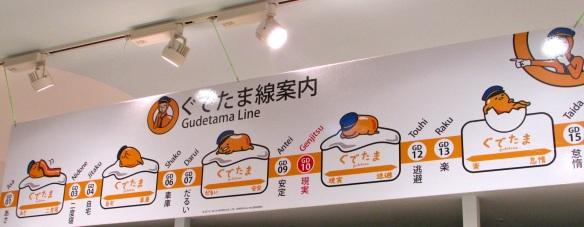 Gudetama metro line