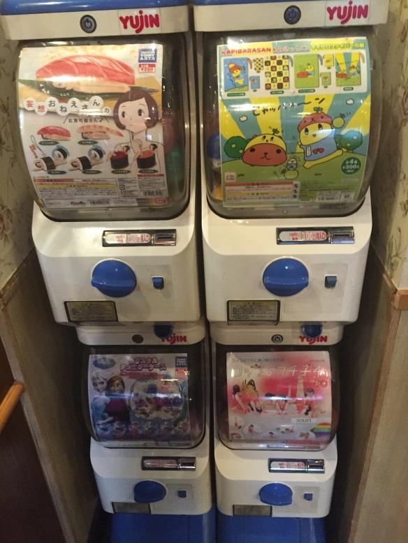 sushi girl vending machine