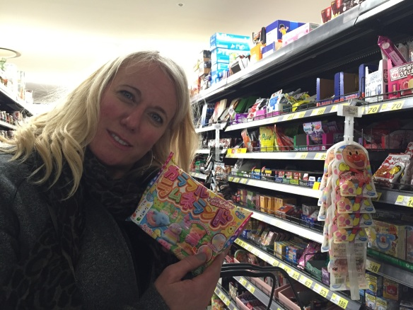 Suz with candies in Rox